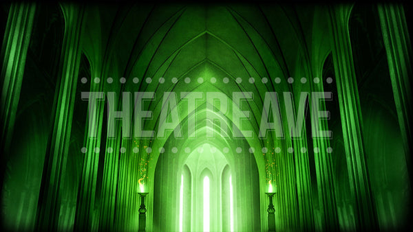 Oz Chamber, a digital theatre projection backdrop perfect for shows like Wizard of Oz and The Wiz