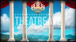 Palace Vista, a digital theatre projection backdrop perfect for shows like Cinderella
