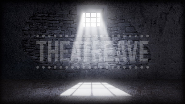 Prison Cell, a digital theatre projection backdrop perfect for shows like Tuck Everlasting