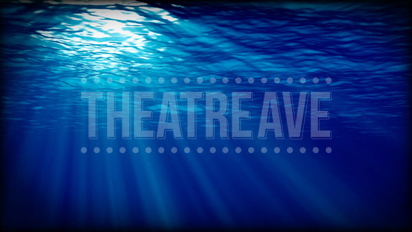 Underwater Deep Blue Projection (Animated)