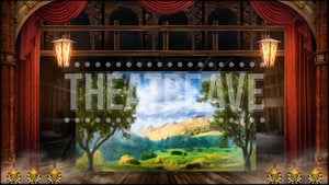 Vaudeville Theater, a digital theatre and ballet projection backdrop by Theatre Avenue.