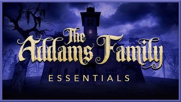 Addams Family projections collection by Theatre Avenue.