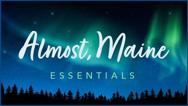 Almost Maine projections collection by Theatre Avenue, includes the Northern Lights and more.