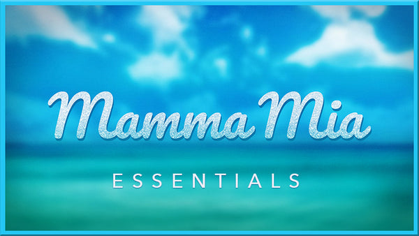Mamma Mia Projections Collection by Theatre Avenue for theater and dance shows.