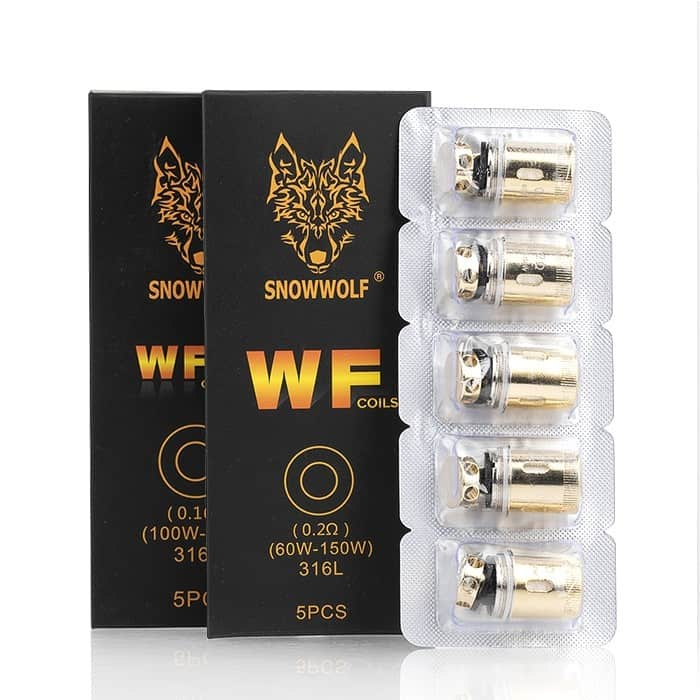 SnowWolf WF Wolf Mini Replacement Coils - (5 Pack) - VapeNip