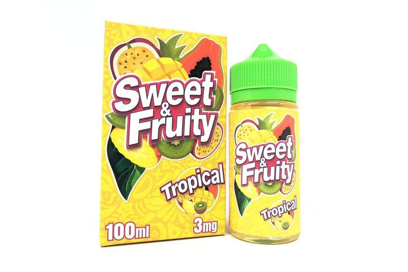 Tropical - Sweet & Fruity E-Juice 100ml - VapeNip