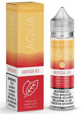 American Red - AQUA Tobacco E-Juice 60ml - VapeNip