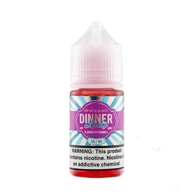 Blackberry Crumble - Dinner Lady Salts 30ml - VapeNip