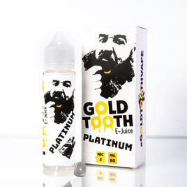 Platinum - Gold Tooth E-Juice 60ml - VapeNip