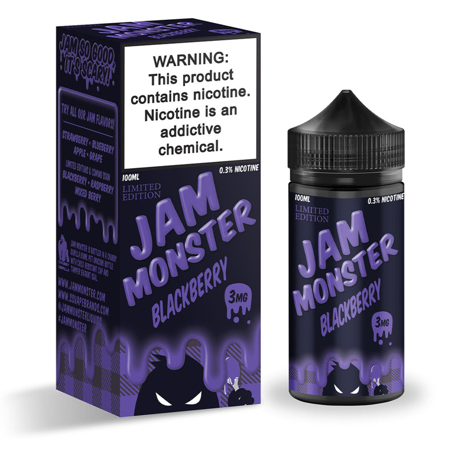 Blackberry - Jam Monster 100ml - VapeNip