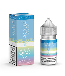 Drops Menthol - AQUA Fresh E-Juice Salts 30ml - VapeNip