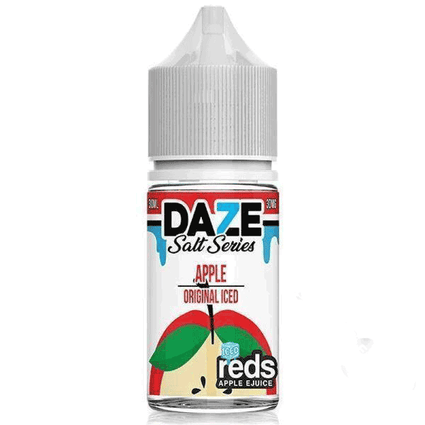 Reds 7 Daze Salt Series Iced - Apple Ejuice - 30ml - VapeNip