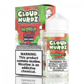 Watermelon Apple - Cloud Nurdz 100ml - VapeNip