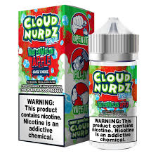 Watermelon Apple Iced - Cloud Nurdz 100ml - VapeNip