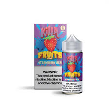 Strawberry Acai - Killa Fruits 100ml - VapeNip