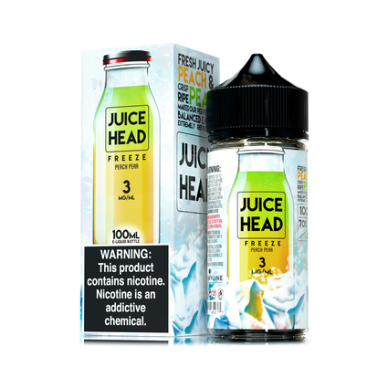 Juice Head Freeze - Peach Pear Ejuice - 100ml - VapeNip