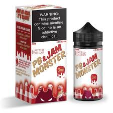 PB & Jam Strawberry - Jam Monster 100ml - VapeNip