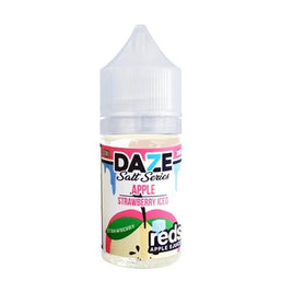 Reds 7 Daze Salt Series Iced - Apple Strawberry Ejuice - 30ml - VapeNip