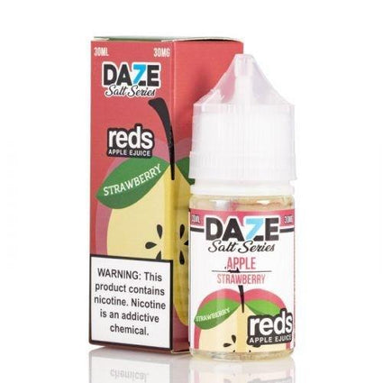 Reds 7 Daze Salt Series - Strawberry Ejuice - 30ml - VapeNip