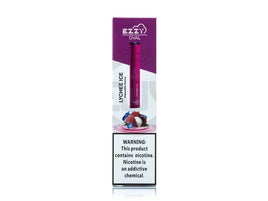 Ezzy - Oval Disposable Pod System - Lychee Ice - VapeNip