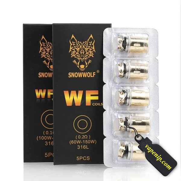 Snow Wolf - Wolf Mini Replacement Coils - 5 Pack - VapeNip
