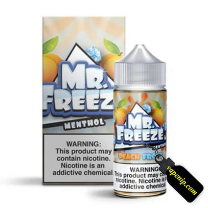 Mr. Freeze Menthol - Peach Frost Ejuice - 100ml - VapeNip