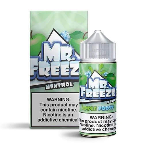 Mr. Freeze Menthol - Apple Frost Ejuice - 100ml - VapeNip