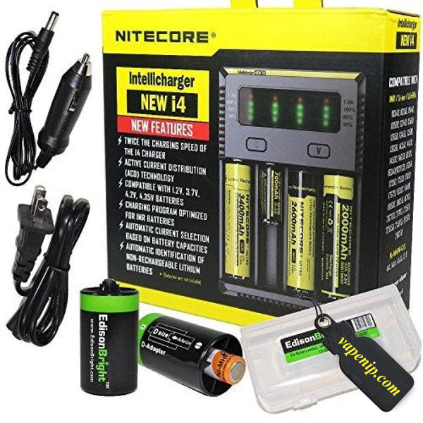 Nitecore New i4 Battery Charger - VapeNip