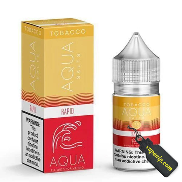 Aqua Tobacco Salts - Rapid Ejuice - 30ml - VapeNip