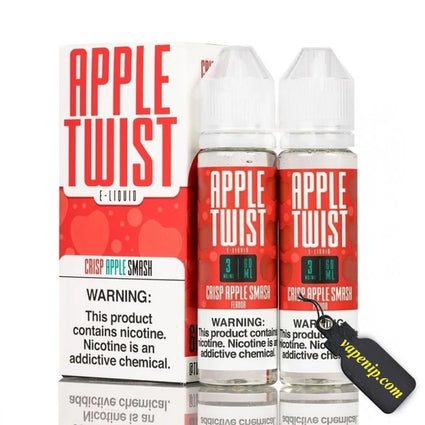 Crisp Apple Smash - Apple Twist E-Liquid 60ml - VapeNip
