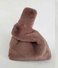 Load image into Gallery viewer, Faux fur bag