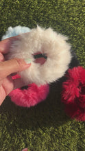 Load and play video in Gallery viewer, fuax fur scrunchie