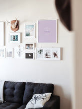 Load image into Gallery viewer, Lilac Apartment Print, Downloadable print poster wall art
