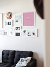 Load image into Gallery viewer, Pink Apartment Print, Downloadable print poster wall art