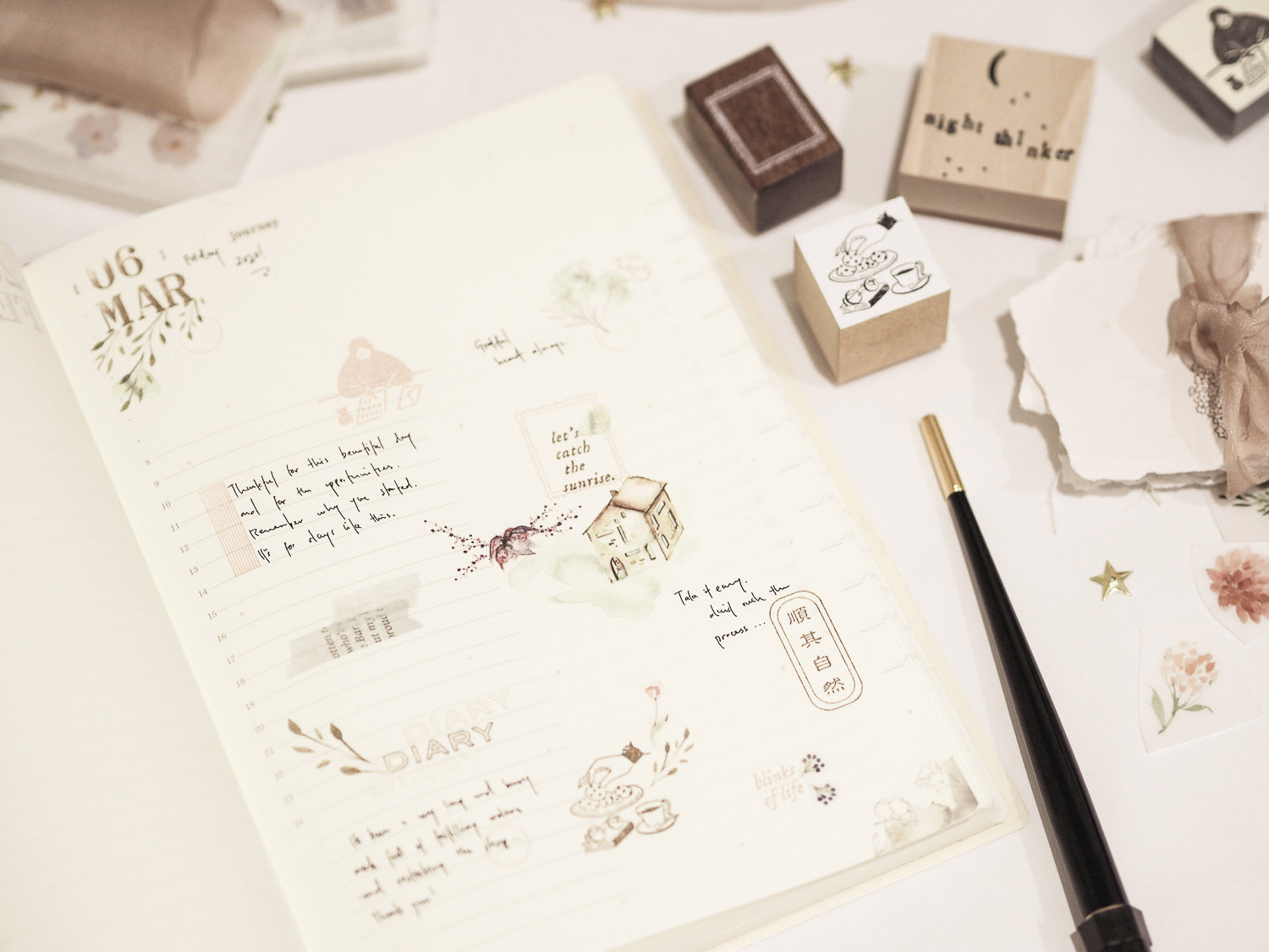 Blinks of Life Journal Stamp Shop