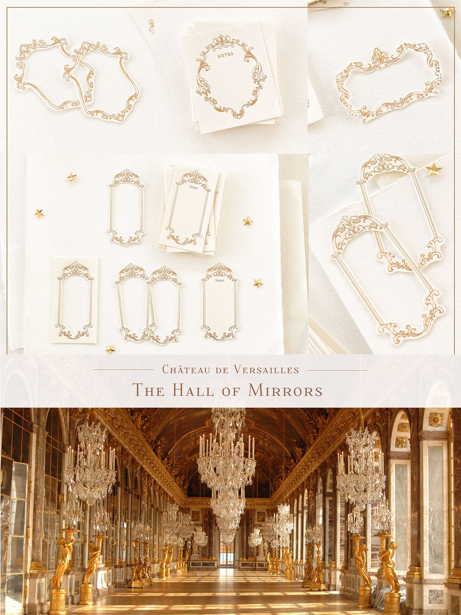 Blinks of Life - Gold Frames The Hall of Mirrors Collection