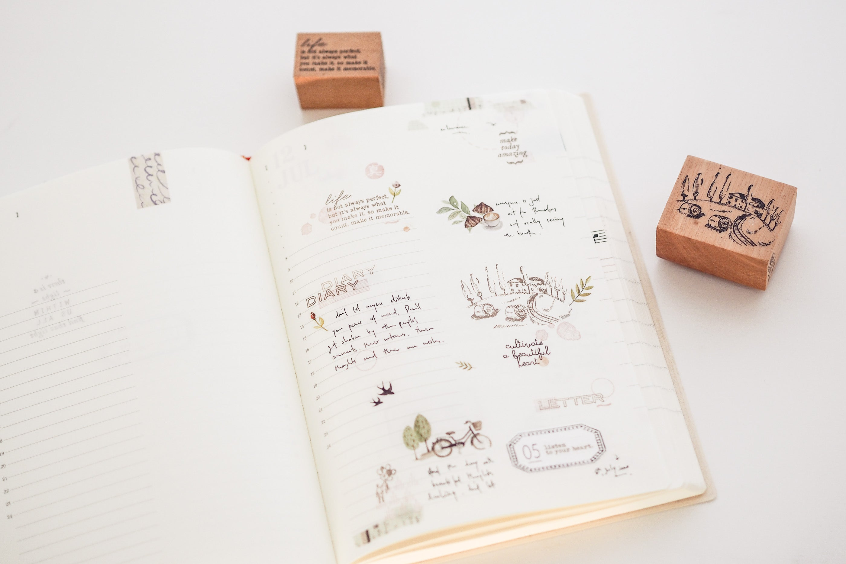 Blinks of Life Journal Stamp Collection
