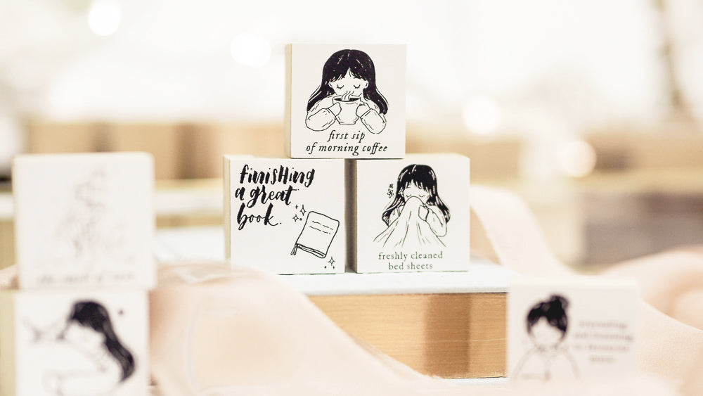 Blinks of Life Stamps - The Simple Pleasures in Life