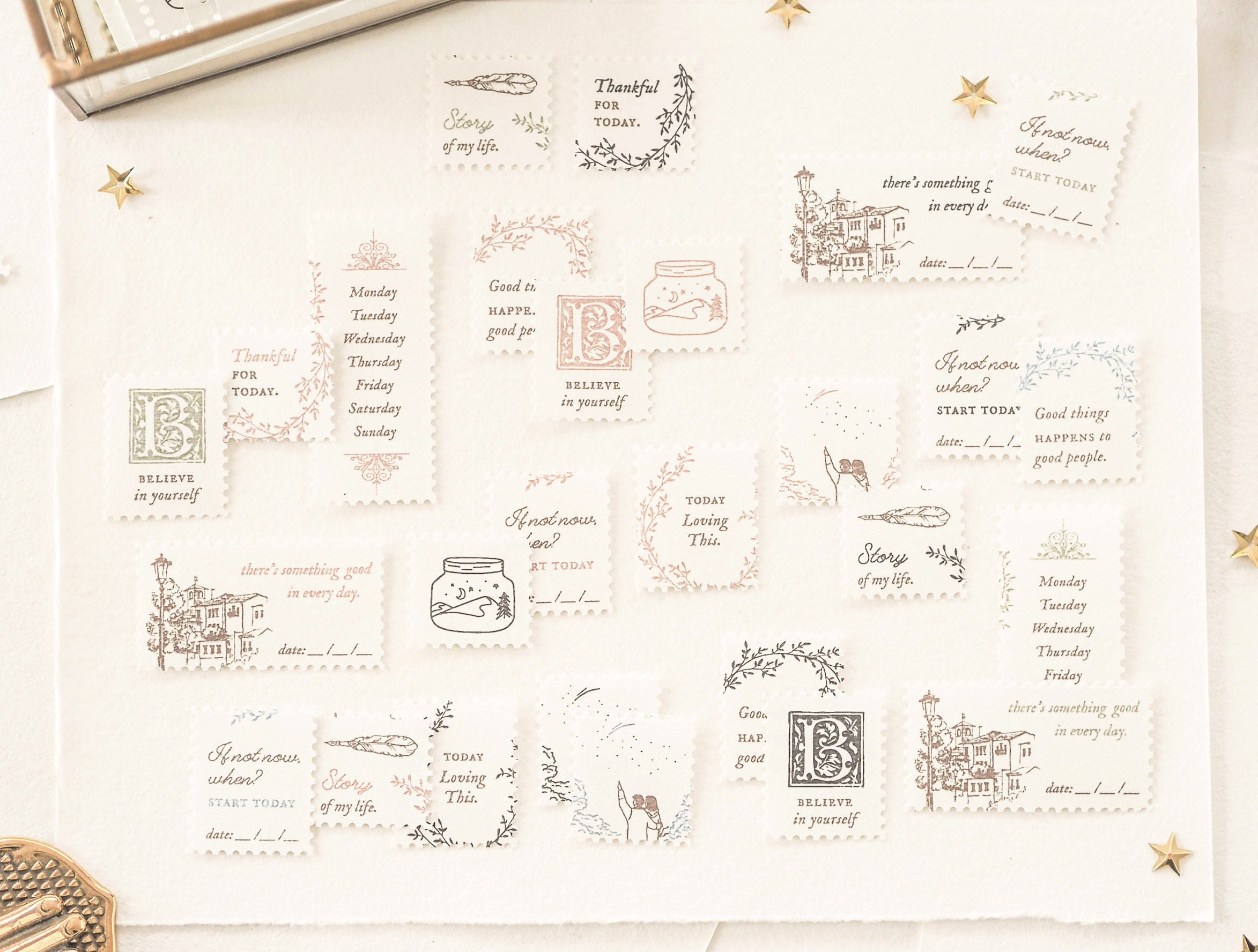 Blinks of Life - Stamp Sheets