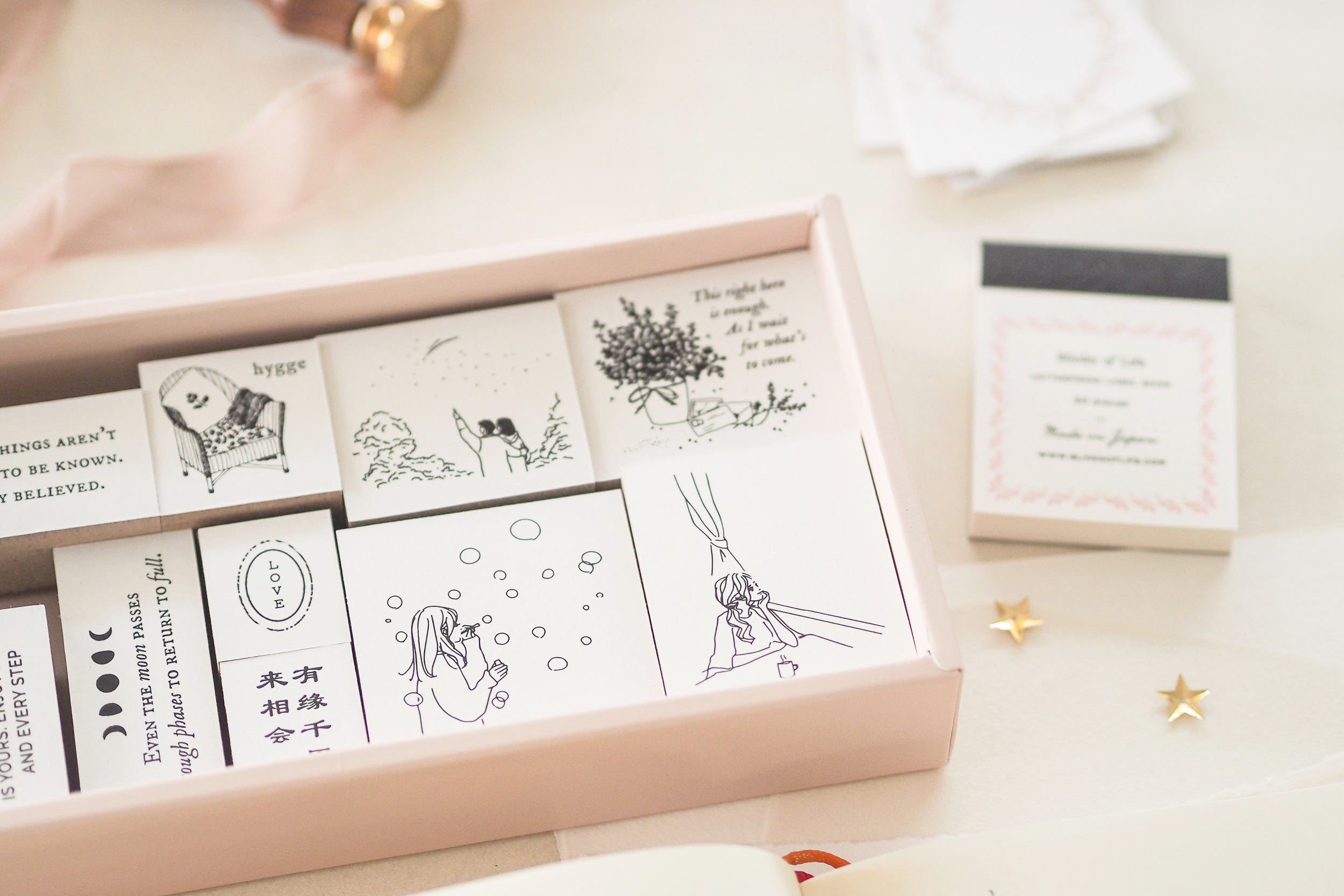 Blinks of Life - Journal Stamp Collection - MD Diary