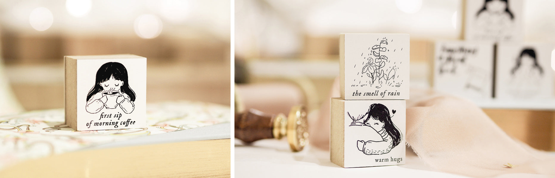 Blinks of Life x My Gratitude List - The Simple Pleasures in Life - Stamp Collection