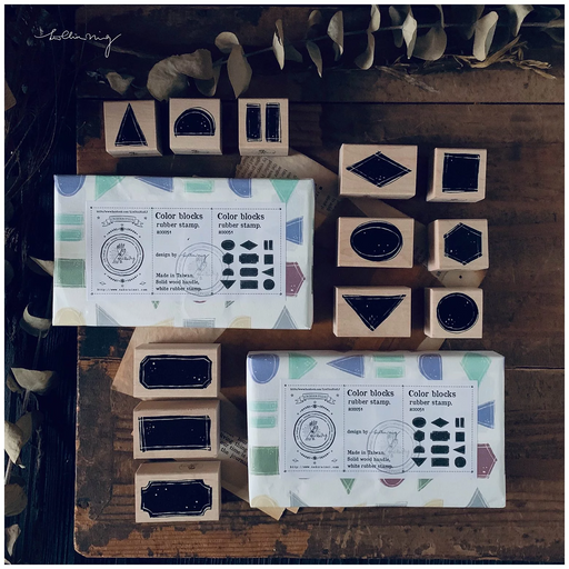 Lin Chia Ning - Color Block stamp set