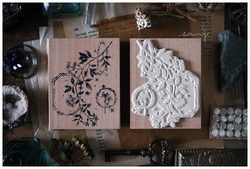 Lin Chia Ning - Dried Flower stamp set B
