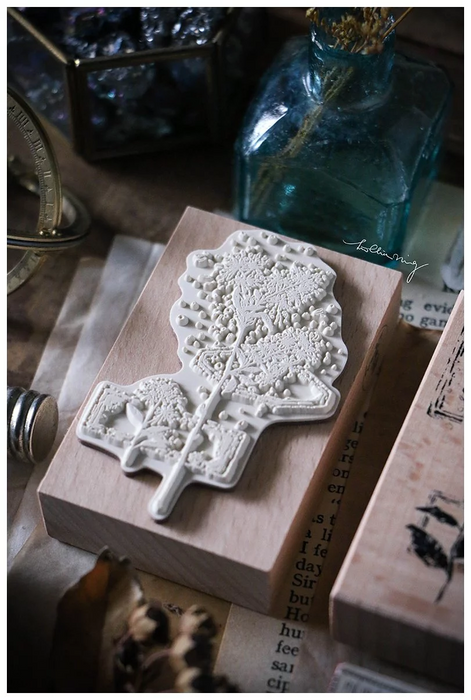Lin Chia Ning - Dried Flower stamp set C