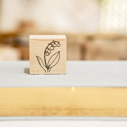 HUTTE Paper Works Botanical Stamp - Lily of the Valley