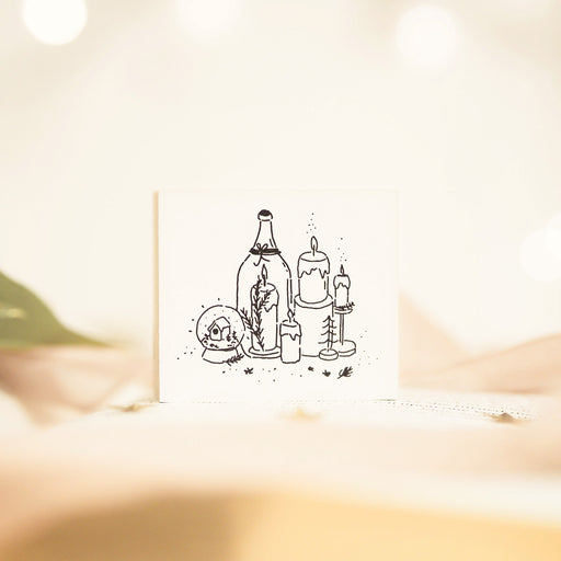 Blinks of Life - The Hygge Home Collection - Rubber Stamp