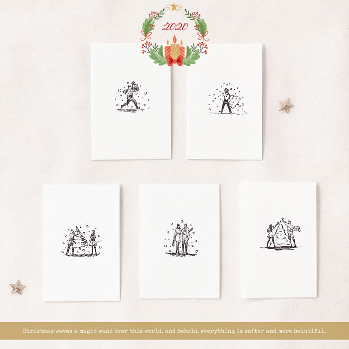 Blinks of Life Stamp Collection - Life Captured in December