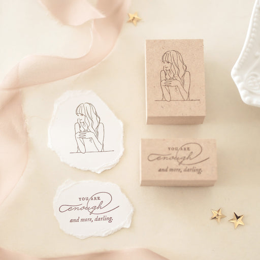 Blinks of Life - Stamp Collection - You Are Enough and More Darling