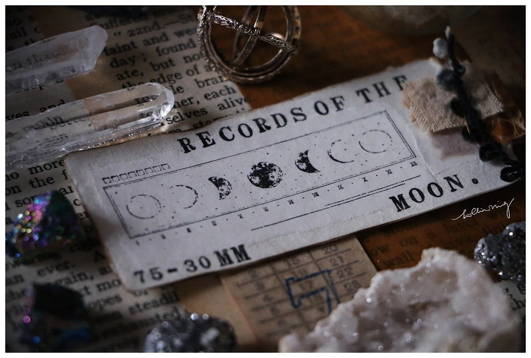 Lin Chia Ning - Records of the Moon metal stamp