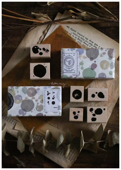 Lin Chia Ning - Paint Spots stamp set
